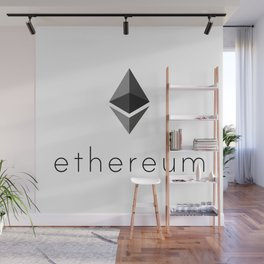 Ethereum | Cryptocurrency Lovers Gift Wall Mural