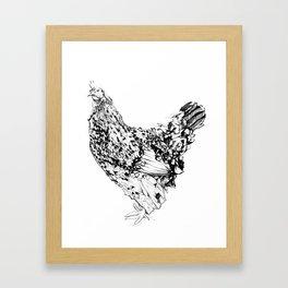 Magritte - Henhouse Series Framed Art Print
