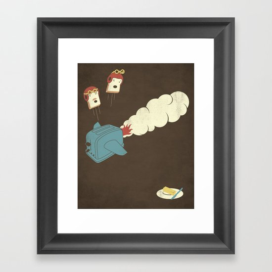 Eject! Framed Art Print