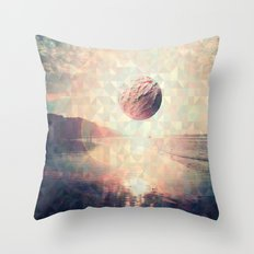 Triangle Sun Throw Pillow