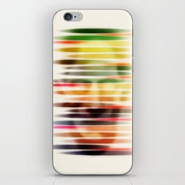 Troubled Face iPhone Skin