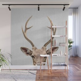Deer - Colorful Wall Mural
