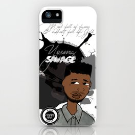 Hu$tle or $tarve iPhone Case