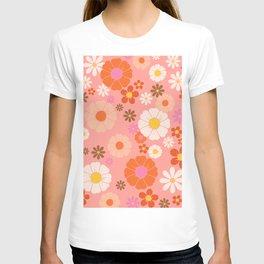 Groovy 60's Mod Flower Power T-shirt