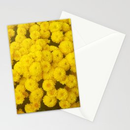 Autumn Gold - Chrysanthemums Stationery Cards