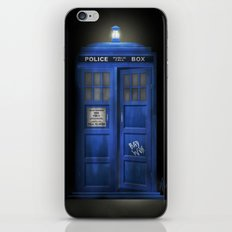 """Death – The Doctor's Truest Companion"" iPhone & iPod Skin"