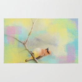 Song of the Waxwing Rug