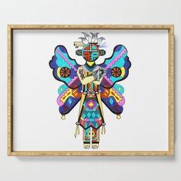 Kachina Butterfly 5 Serving Tray