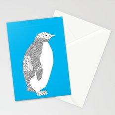 Light blue-Penguin Stationery Cards