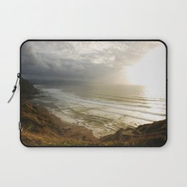 Nature photography. Barrika Beach, Basque Country. Spain. Laptop Sleeve