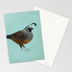 Quail Stationery Cards