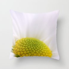 The White Whisper Throw Pillow