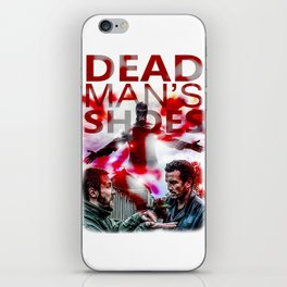 Dead Man's Shoes Print iPhone Skin