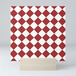 HARLEQUIN (BROWN & WHITE) Mini Art Print