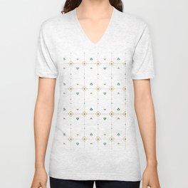 Jazzy Okami Pattern Unisex V-Neck