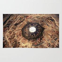 Vasari Fresco, Brunelleschi cupola, Florence Duomo Rug