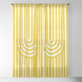 U, Sheer Curtain