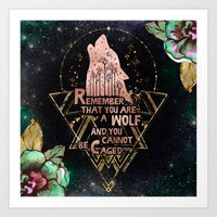 ACOWAR - You Are A Wolf Art Print