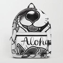 Aloha Corgi Backpack