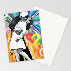 Kiss - Time Square Kiss Stationery Cards