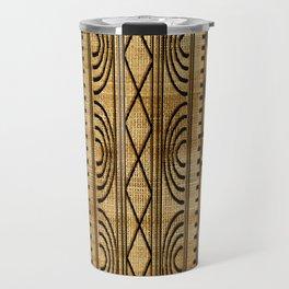 African Weave Travel Mug