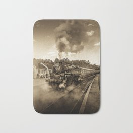 Nostalgic Journey Bath Mat