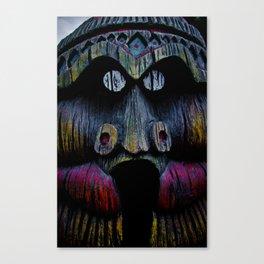 Tiki Dude Canvas Print