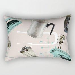 Fifties Kitchen Eggshell Rectangular Pillow
