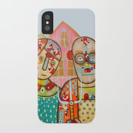 The American Gothic iPhone Case