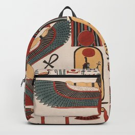 Ancient Egyptian pattern design Backpack