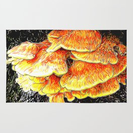 Fried Chicken of the Woods Rug