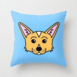 Bondi The Corgi Throw Pillow