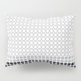 Number 14: Gray (Jackson Pollock) color-sorted Pillow Sham