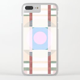 Deco 9 Clear iPhone Case