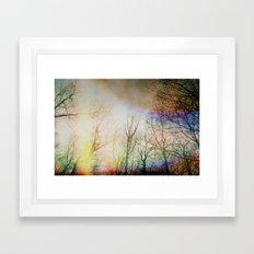 Spring Outside Framed Art Print