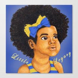 Little Legacy- S G Rho Canvas Print