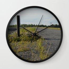 Road Less Traveled Wall Clock