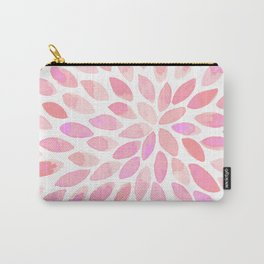 Watercolor brush strokes - pastel pink Carry-All Pouch