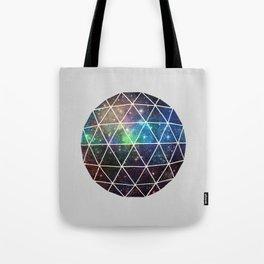 Space Geodesic Tote Bag