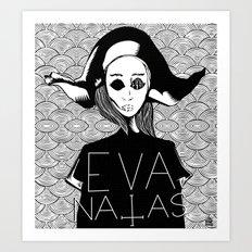eva natas Art Print