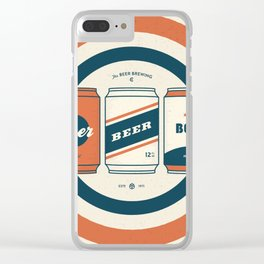 The Beer Brewing Company - Red Clear iPhone Case