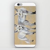 foxes iPhone & iPod Skins featuring foxes by Ashley White Jacobsen