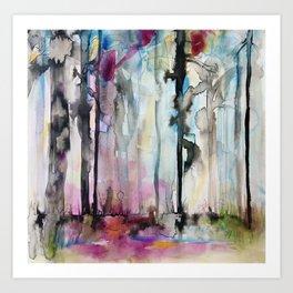 forest dream Art Print