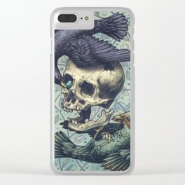 Bowerbirds Clear iPhone Case