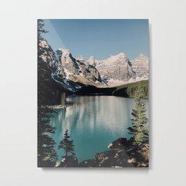Moraine Lake Morning Metal Print