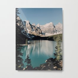 Moraine Lake Morning Metal Print