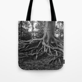 Putting Down Roots Tote Bag