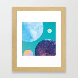 P a s t e l l 3 Framed Art Print