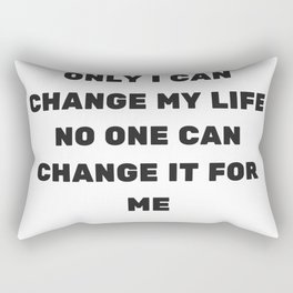 Inspirational Quotes Rectangular Pillow