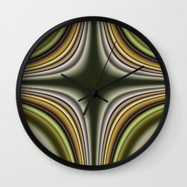 Fractal Cross in CMR 01 Wall Clock
